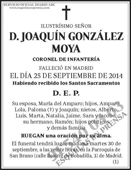 Joaquín González Moya